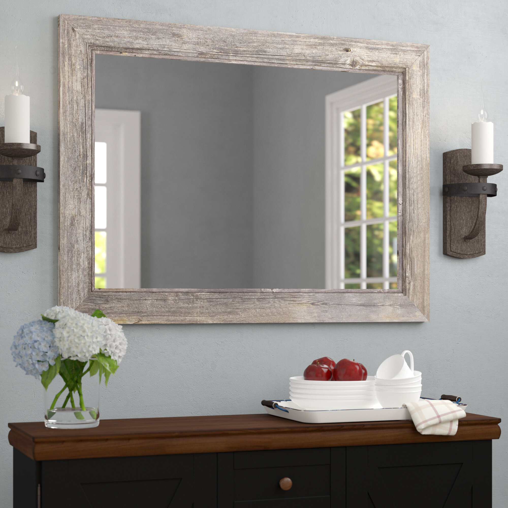 August Grove Coastal Bathroom Mirror Reviews Wayfair