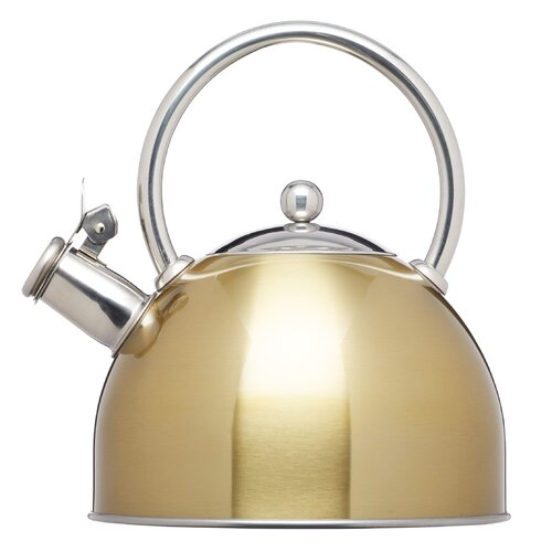 LeXpress Whistling Induction-Safe 1.4L Stove Top Kettle KitchenCraft