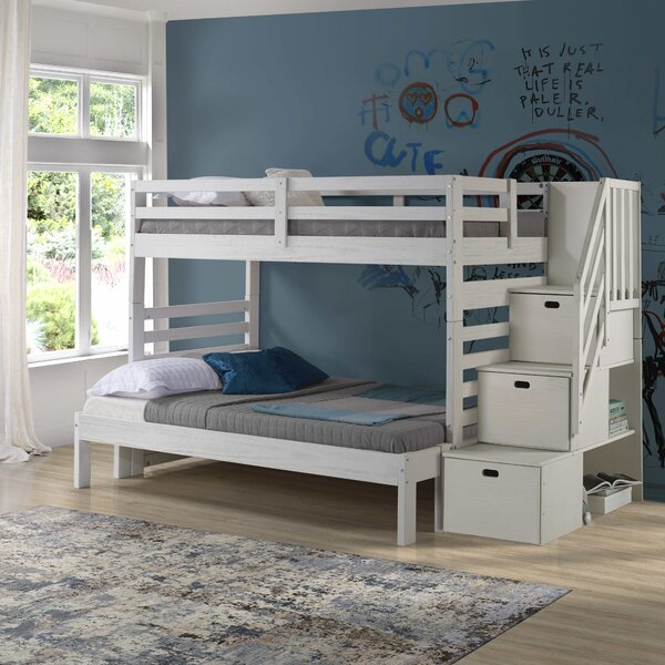 Mccarter Twin over Full Bunk Bed by Harriet Bee Harriet Bee