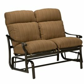 Montreux Glider Bench with Cushions