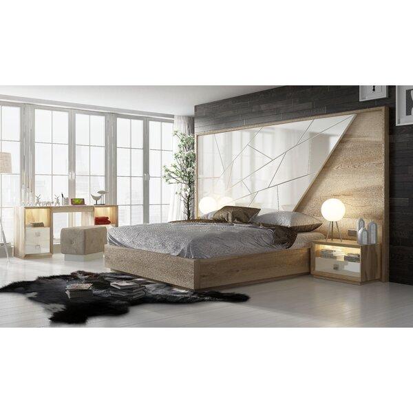 London King Platform Bed by Hispania Home