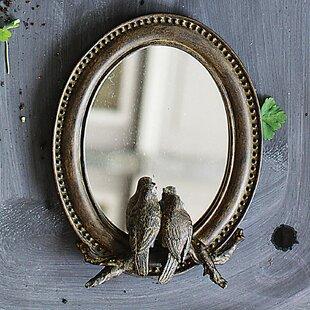 Charlton Home Mccord Birds Accent Mirror