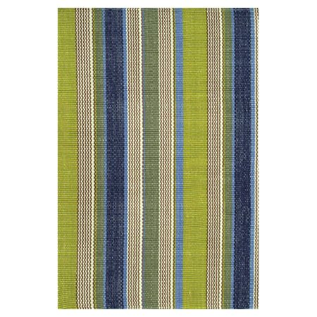 Woven Cotton Green Indoor/Outdoor Area Rug by Dash and Albert Rugs