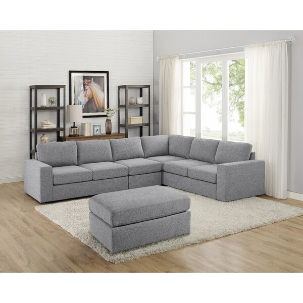 Cheryle Reversible Modular Sectional with Ottoman by Ivy Bronx