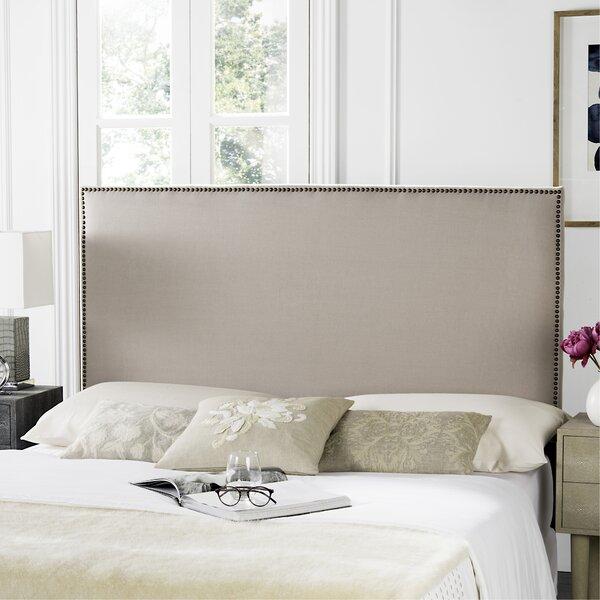 Farringdon Upholstered Wingback Headboard by House of Hampton