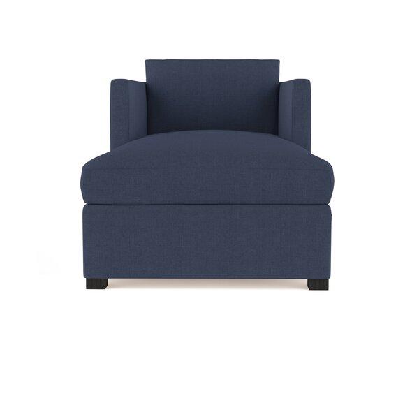 Leedom Linen Chaise Lounge by Brayden Studio