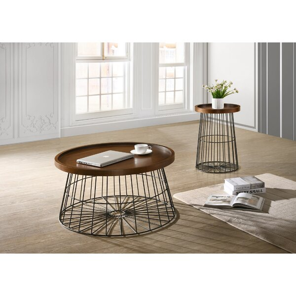 Renwick 2 Piece Coffee Table Set by Williston Forge Williston Forge