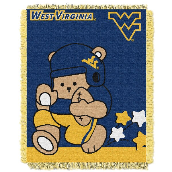 Collegiate West Virginia Baby Throw by Northwest Co.