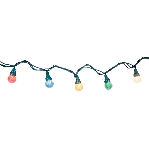 Globe Bulbs Cord 35 Light String Lighting by The Holiday Aisle