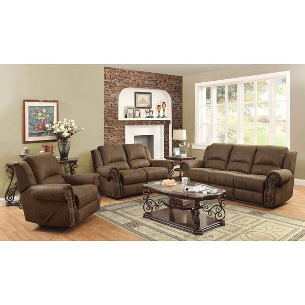Haslingden 3 Piece Reclining Living Room Set by Darby Home Co