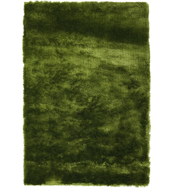 Pilipenko Hand-Tufted Apple Green Area Rug by Ebern Designs