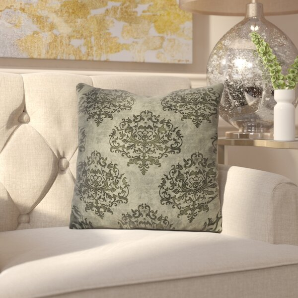 Chancellor Filigree Throw Pillow by House of Hampton