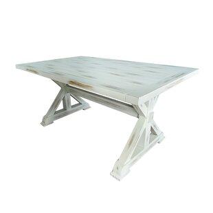 Find a Pinon 63 Aluminum Dining Table ByGracie Oaks