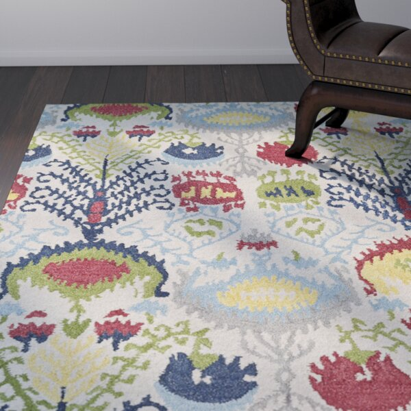 Kasa Hand-Tufted Multi Area Rug by World Menagerie