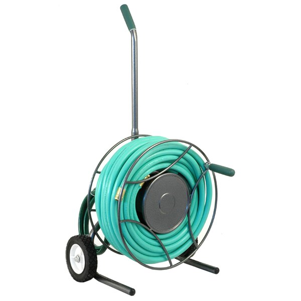 Metal Hose Reel Cart by Lewis Lifetime Tools