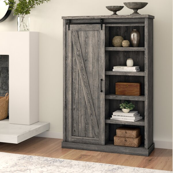 Laurel Foundry Modern Farmhouse Bookcases With Doors
