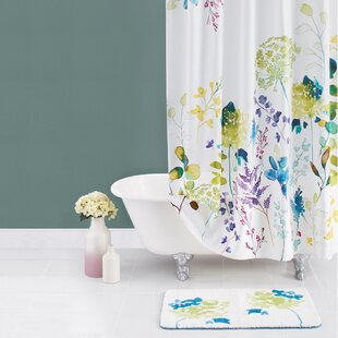 purple and gold shower curtains. Botanical Garden Cotton Shower Curtain Purple And Gold Curtains S