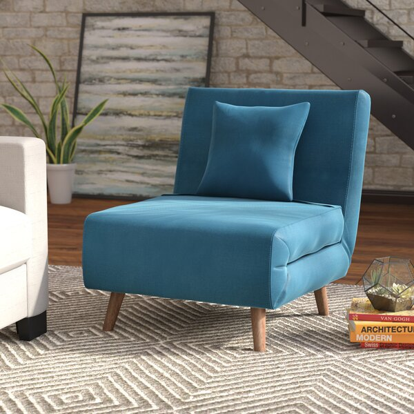 Wolfe Convertible Chair by Mercury Row