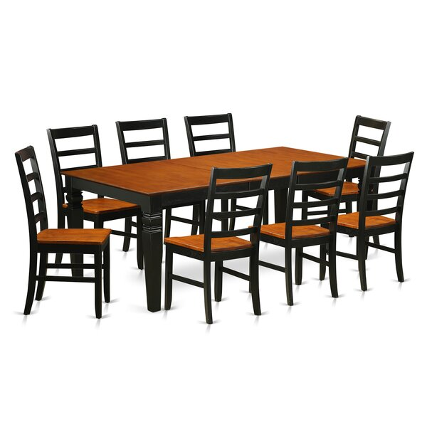 Logan 9 Piece Dining Set by Wooden Importers