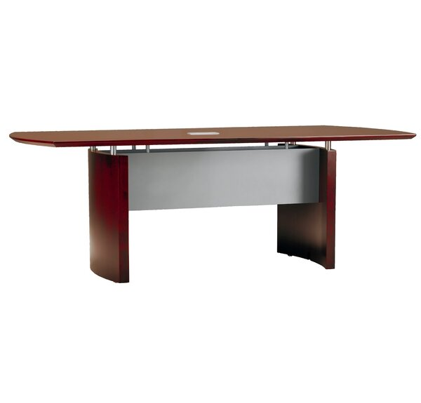 Napoli Curved End Conference Table by Mayline Group