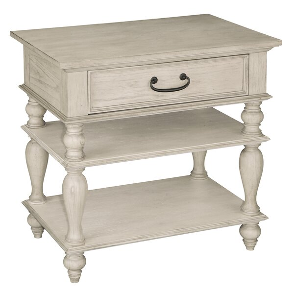 Fleisher 1 Drawer Nightstand by Darby Home Co