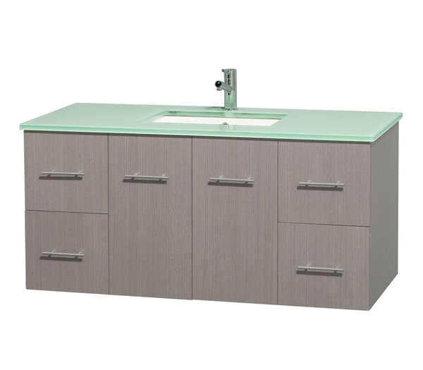 Centra 48 Single Bathroom Vanity Set by Wyndham Collection