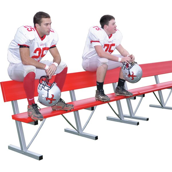 7.5′ Portable Aluminum Players Bench by Jaypro S