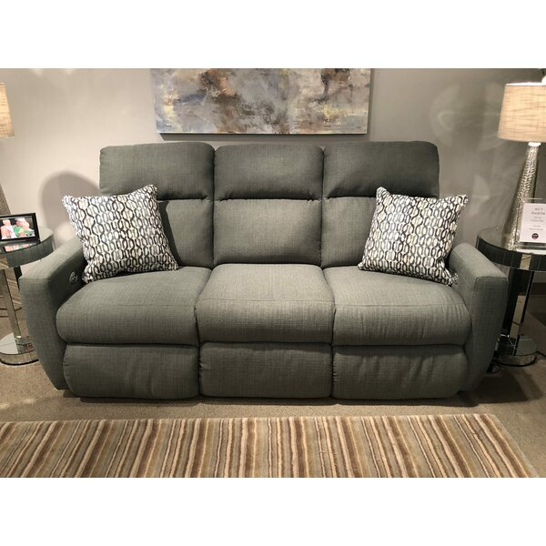 Luxury Brands Knockout Reclining Sofa by Southern Motion by Southern Motion