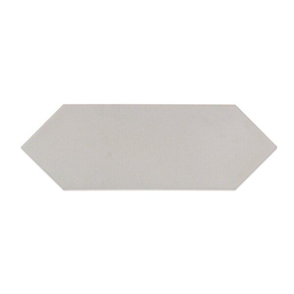 Russell 4 x 12 Porcelain Field Tile in Matte Light Gray by Splashback Tile
