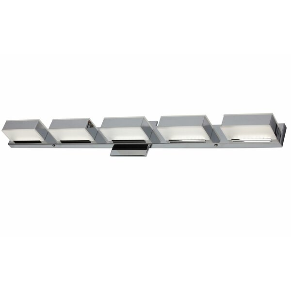 Elkins 5-Light LED Bath Bar by Orren Ellis