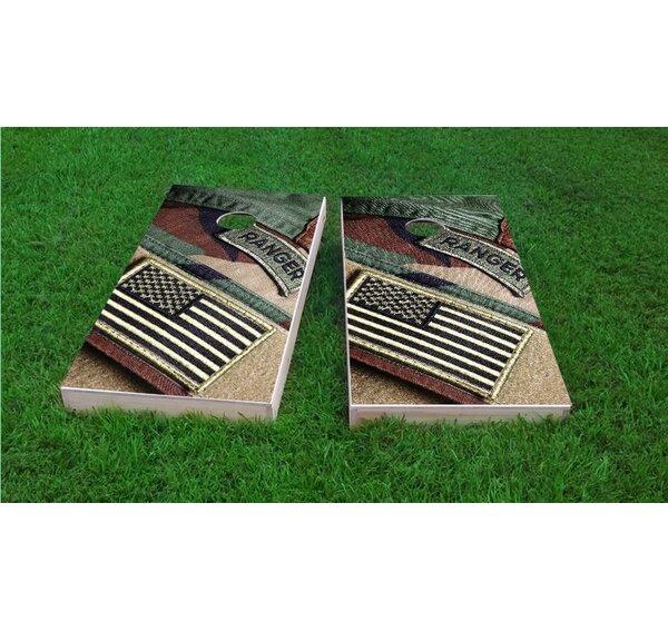 US Army Light Weight Cornhole Game Set by Custom Cornhole Boards