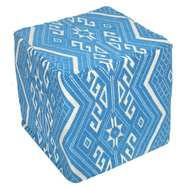 Jacquard Pouf by Divine Home