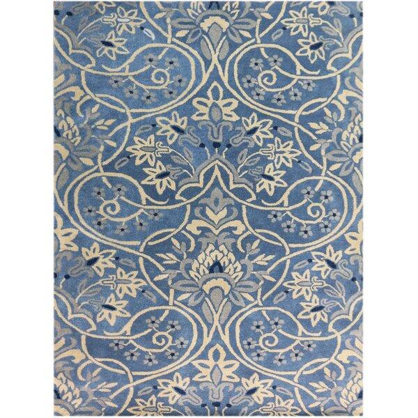 Jaylene Hand-Tufted Blue Area Rug by Ophelia & Co.