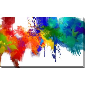 'The Laughing Truth' Painting Print on Wrapped Canvas by Picture Perfect International