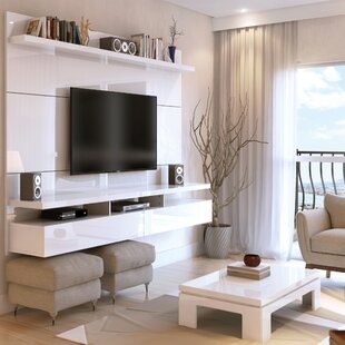 Affordable Boone Entertainment Center for TVs up to 80 ByLatitude Run