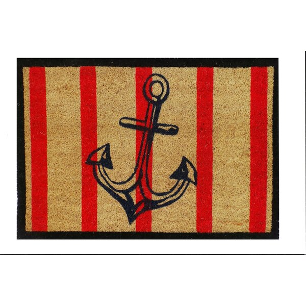 Anchor Coir Doormat by A1 Home Collections LLC