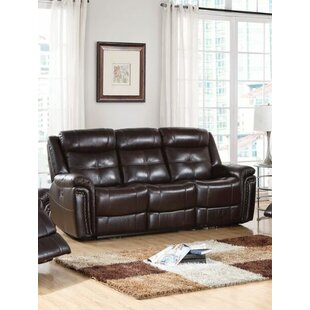 Guerrero-Pezzano Power Motion Reclining Sofa Red Barrel Studio