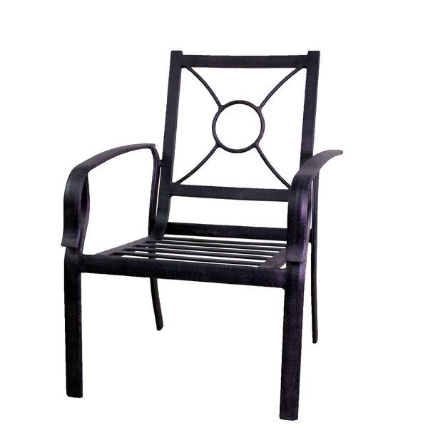 Waynesburg Patio Dining Chair (Set of 2) by Red Barrel Studio