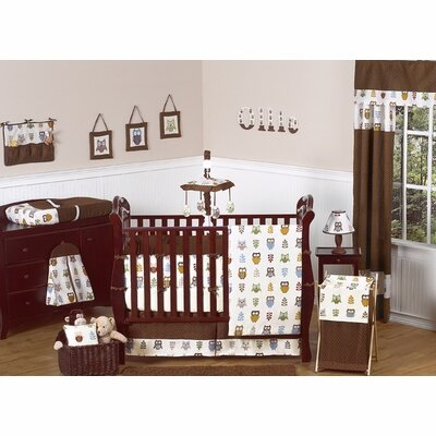 Night Owl 9 Piece Crib Bedding Set by Sweet Jojo Designs