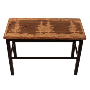 Valerie Feather Tree Wood/Metal Bench