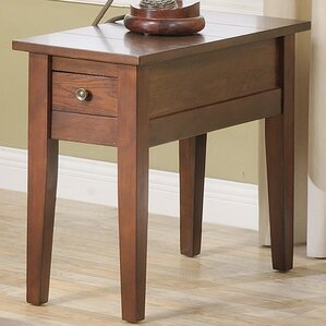 corvally rectangle end table