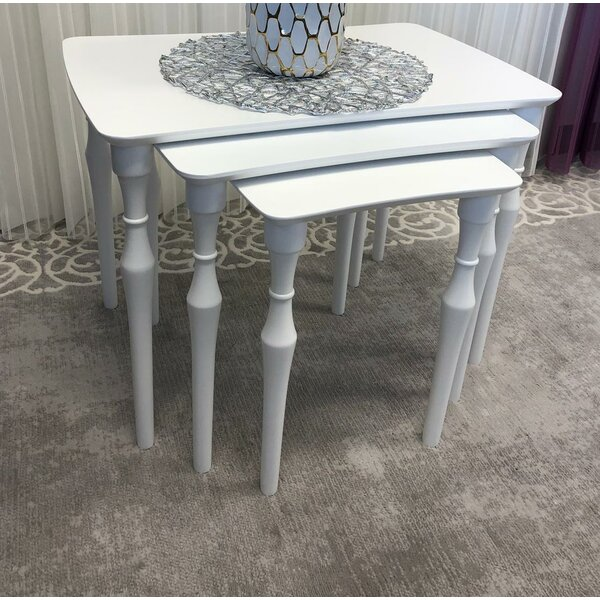 Lindisfarne Nesting Tables By Rosecliff Heights
