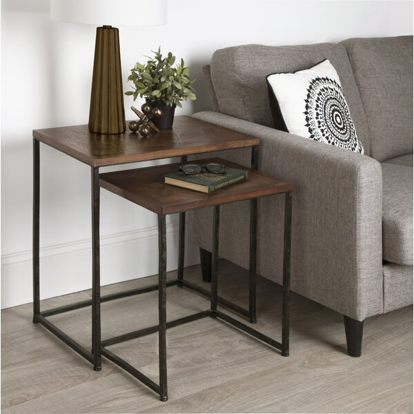 Callan 2-Piece Nesting Tables by 17 Stories