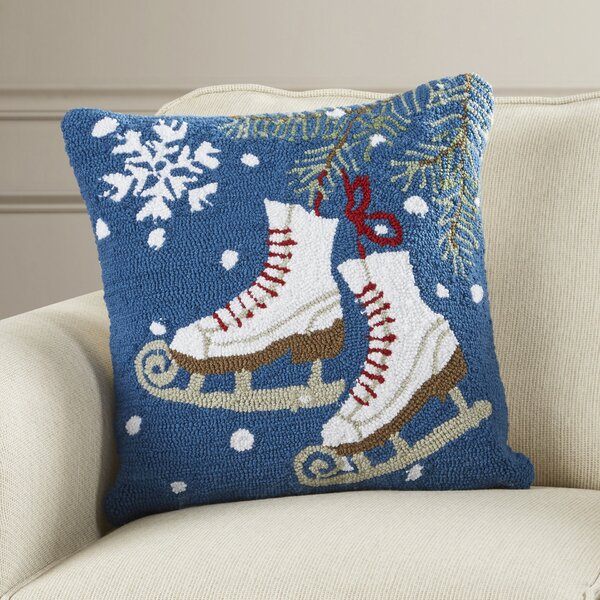 Haggerty Ice Skates Throw Pillow By Three Posts.