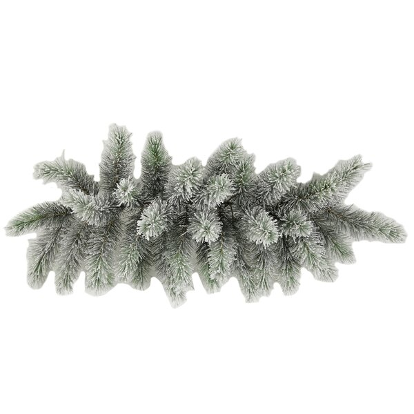 Christmas Pine Swag with Frosted Snow Tip by Admir