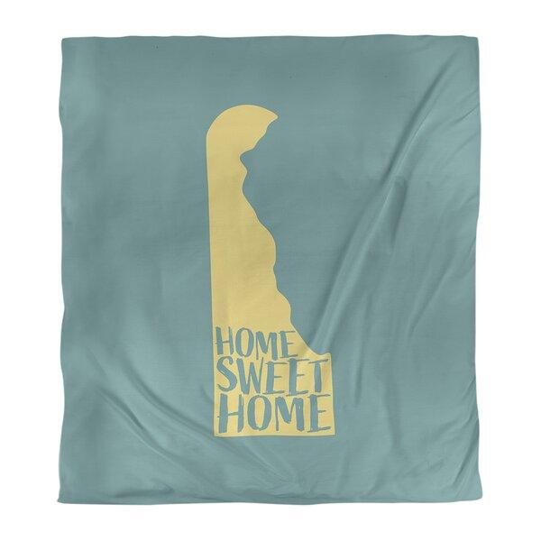 Home Sweet Delaware Duvet Cover