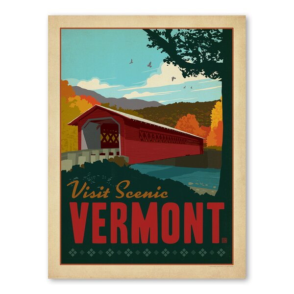 Vermont Vintage Advertisement by East Urban Home