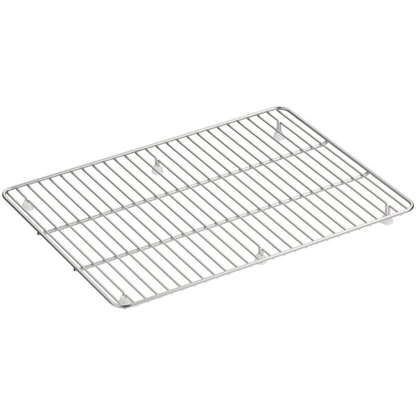 Cairn™ Large Stainless Steel Sink Rack, 19-1/2 x 14, for K-8206 by Kohler