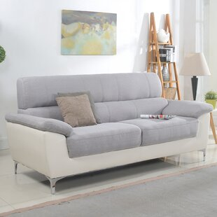 Two Tone Leather Couch Wayfair