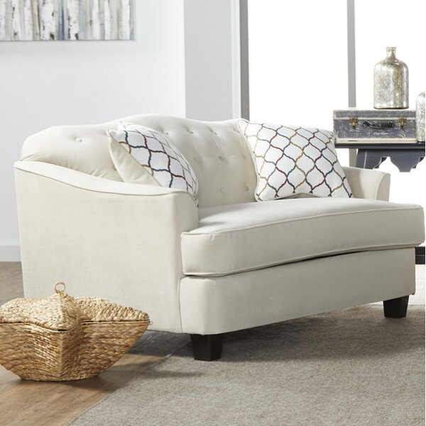 Oehler Loveseat by Charlton Home